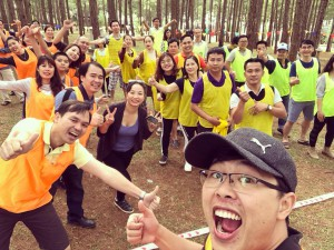 Team building event during CEOK35 Christmas celebration in Dalat