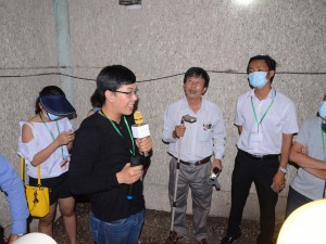 CEO Tour to edible bird's nest factory in Phu Yen