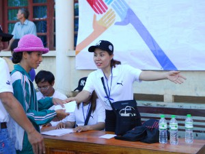 Charitable event to support people in flooded area in Quang Binh