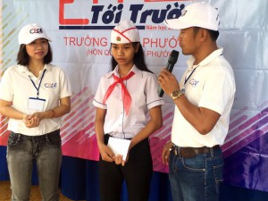 Charitable event of CEOK35 group at Le Van Tam elementary school-Binh Phuoc
