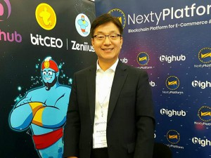 Mr. Bong Kyu Park at Blockchain Summit London